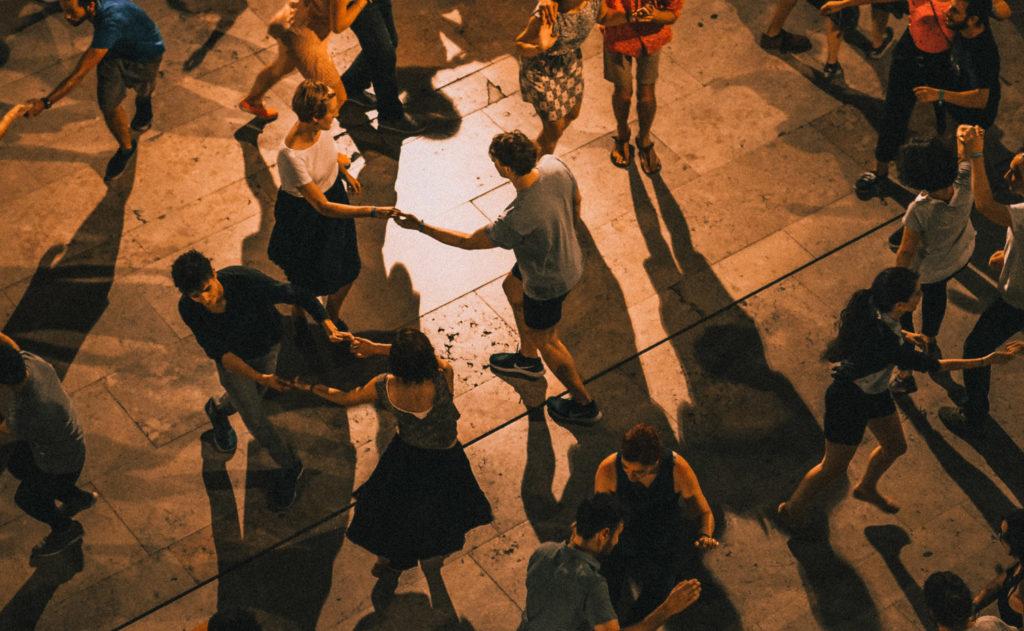 Современная хореография с элементами латины